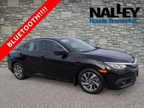 Certified Pre-Owned 2016 Honda Civic Sedan EX FWD 4dr Car