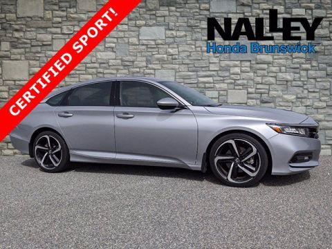 Certified Pre-Owned 2018 Honda Accord Sedan Sport 1.5T FWD